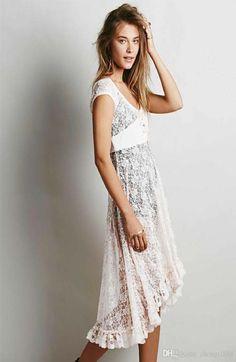 2d969792390b Women Feminine Lace Fishtail dresses