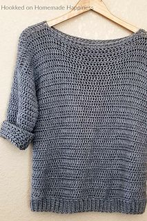 Ravelry: Simple Sweater pattern by Hooked On Homemade Happiness