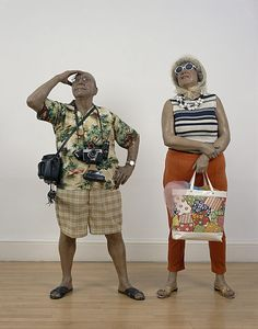 """Tourists"" - Duane Hanson"