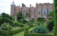Hatfield House where Elizabeth spent most of her childhood