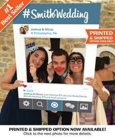 Social Media Photo Prop Digital File Printable PDF