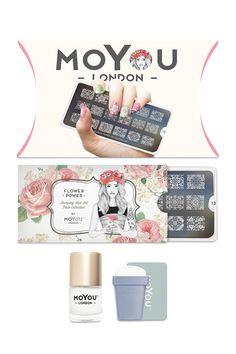 MoYou Flower Nail Stamp Kit