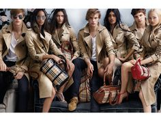 In The Trenches: Burberry Prorsum Spring/Summer 2014 Ad Campaign