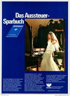 Original-Werbung/ Anzeige 1969 - AUSSTEUER - SPARBUCH / POSTBANK - ca. 180 x 240 mm