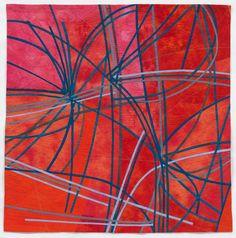 Art=Quilts=Art   Un-multi-tasking by Judy Kirpich