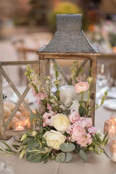 Lantern centerpiece wedding - 20 Rustic Lantern Wedding Centerpieces for 2020 – Lantern centerpiece wedding Lantern Centerpiece Wedding, Wedding Lanterns, Rustic Wedding Centerpieces, Wedding Table Centerpieces, Wedding Decorations, Wedding Rustic, Centerpiece Flowers, Wedding Ideas, Lanterns With Flowers