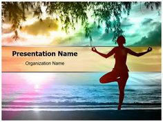 Handball sports player powerpoint template is one of the best download our professionally designed sunset yoga ppt template this sunset yoga toneelgroepblik Image collections