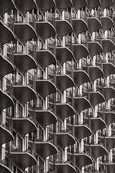 Balcony - While in Hawaii we stayed at the Hilton, and as we were walking back one day I noticed the balconies would make for a cool abstract so here it is!