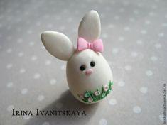 """Мастер-класс: серьги """"Пасхальный кролик"""" - Ярмарка Мастеров - ручная работа, handmade"""