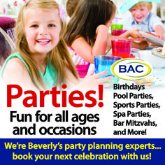 Birthday parties for all ages at Beverly Athletic Club