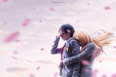 Your Lie In April - Kaori Miyazono, Arima Kousei Cosplay Photo - WorldCosplay