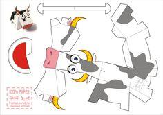 Personajes divertidos para armar en papel [Actualizado]