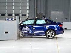 2015 Audi A3 small overlap IIHS crash test