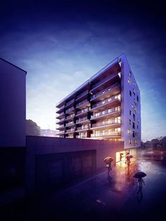 Unique Vision Studio Pulawska Investment by Barnas Rafael