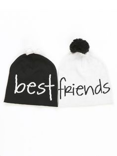 Best Friends Beanies Set