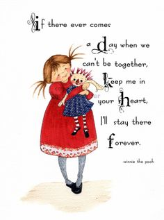 Keep Me In Your Heart Inspirational Print by BlossomTimeCreations, $15.00