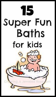 fun baths for kids