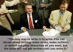 Tom Clancy On Writing