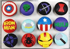 The Mightiest Cupcakes, Avengers Cupcakes