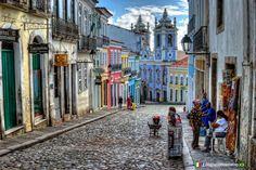 #Salvador (BA) - Pelourinho www.italianobrasileiro.com