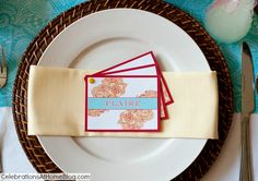 DIY: 3 PIECE PLACE CARD SET