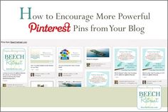 How to encourage powerful Pinterest pins