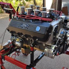 Performance Engines, Performance Cars, Ford Classic Cars, Classic Trucks, Car Engine, Hemi Engine, Ford Bronco, Ford V8, Ford Racing Engines