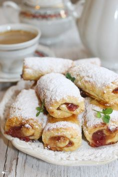 Polish Desserts, Polish Recipes, Cake Recipes, Snack Recipes, Cooking Recipes, French Deserts, My Favorite Food, Favorite Recipes, Sweet Pastries