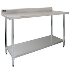 Kukoo 5ft Food Preparation Kitchen Catering Table Stainl Https