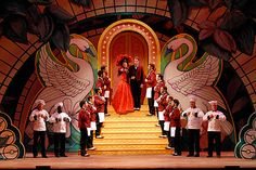 Hello Dolly. Scenic design by Adam Koch.