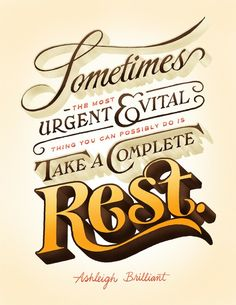 God loves us so much that he gave us the 7th day as a day of rest to honor him.
