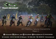 REHOBAT TEAM 2017 Grasstrack National Championship Region 2  #xtremerated #xclub #grasstrack #indonesia