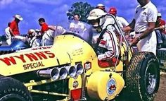 Don Branson Wynn's Special 1964 New Bremen Speedway Racing, Sprint Car Racing, Dirt Track Racing, Auto Racing, Vintage Race Car, Vintage Auto, Vintage Motocross, Old Race Cars, Indy Cars