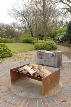 www.pinterest.com/1895gunner/ | Chunk fire pit from magmafirepits, durable 5mm steel firepit