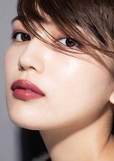 Beautiful Lips, Beautiful Girl Image, Beautiful Women, Japanese Beauty, Asian Beauty, Pretty Girl Images, Kawaii Faces, Cute Girl Wallpaper, Cute Japanese Girl