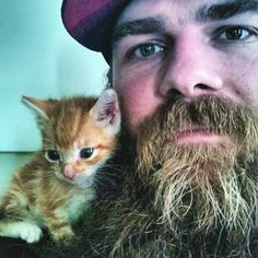 23 Tough Guys With A Soft Side And Furry BFFs That'll Throw You For A Loop