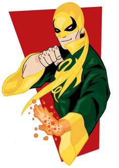 Just a fun stylized take on Iron Fist! Marvel Comic Character, Comic Book Characters, Marvel Characters, Comic Books, Dc Comics Vs Marvel, Marvel Fan, Alter Ego, Hulk, Thor