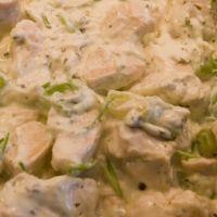 Kip met courgette in kruidenkaas : Koolhydraatarme recepten
