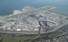 San Francisco International Airport, California This seemingly unnecessarily complex bird's nest of roads is where San Fran's passenger terminal links up with Route 101. In that tangle is also a connection with Interstate 380, San Bruno Avenue and North Access Road.