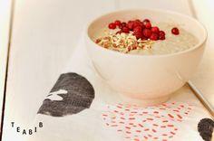 Tee sitä tee tätä: HOW TO // Valkoinen tee-raakapuuro // Raw porridge with white tea