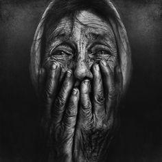 . by Lee Jeffries on 500px. #Blackandwhite #portrait #street