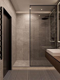 New Bathroom Shower Remodel Walk In Doors Ideas bathroom 524950900317727409 Bathroom Layout, Modern Bathroom Design, Bathroom Interior Design, Bathroom Ideas, Bathroom Organization, Minimal Bathroom, Shower Ideas, Bath Design, Neutral Bathroom