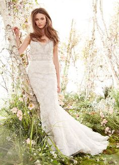 Bridal Gowns, Wedding Dresses by Jim Hjelm - Spring 2014 Collection - JLM Couture