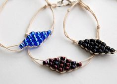 studs and pearls: diy: Beaded Diamond Bracelet