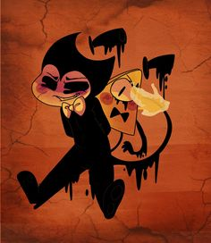 Bendy and the ink machine x Gravity Falls