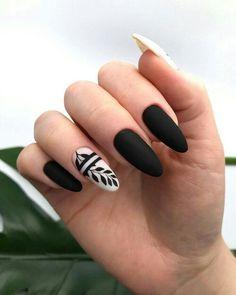 Natural Acrylic Black Almond & Square Nail Designs for Short Nails - . - Natural Acrylic Black Almond & Square Nail Designs for Short Nails – - Square Nail Designs, Black Nail Designs, Short Nail Designs, Nail Art Designs, Nails Design, Cute Acrylic Nails, Cute Nails, Pretty Nails, Gel Nails