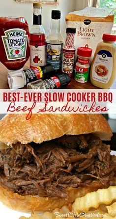 Slow Cooker Bbq Beef, Slow Cooker Recipes, Crockpot Recipes, Cooking Recipes, Crockpot Meat, Dinner Crockpot, Kale Recipes, Health Recipes, Health Desserts