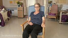 Positioning in a bed and chair | Stroke4Carers