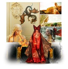 """Daenerys Targaryen"" by magical-owl ❤ liked on Polyvore"