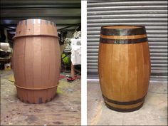 Www Louisasloan Cardboard Vintage Barrel Pirate 2016